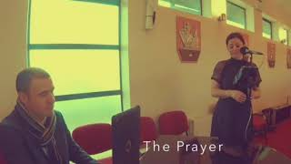 The Prayer (Katie Hughes Wedding Singer) YouTube Thumbnail