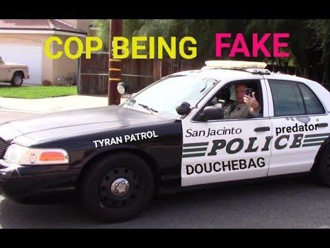 San Jacinto Police Dept. (COP AND THEIR EGOS) 1st Amendment Audit