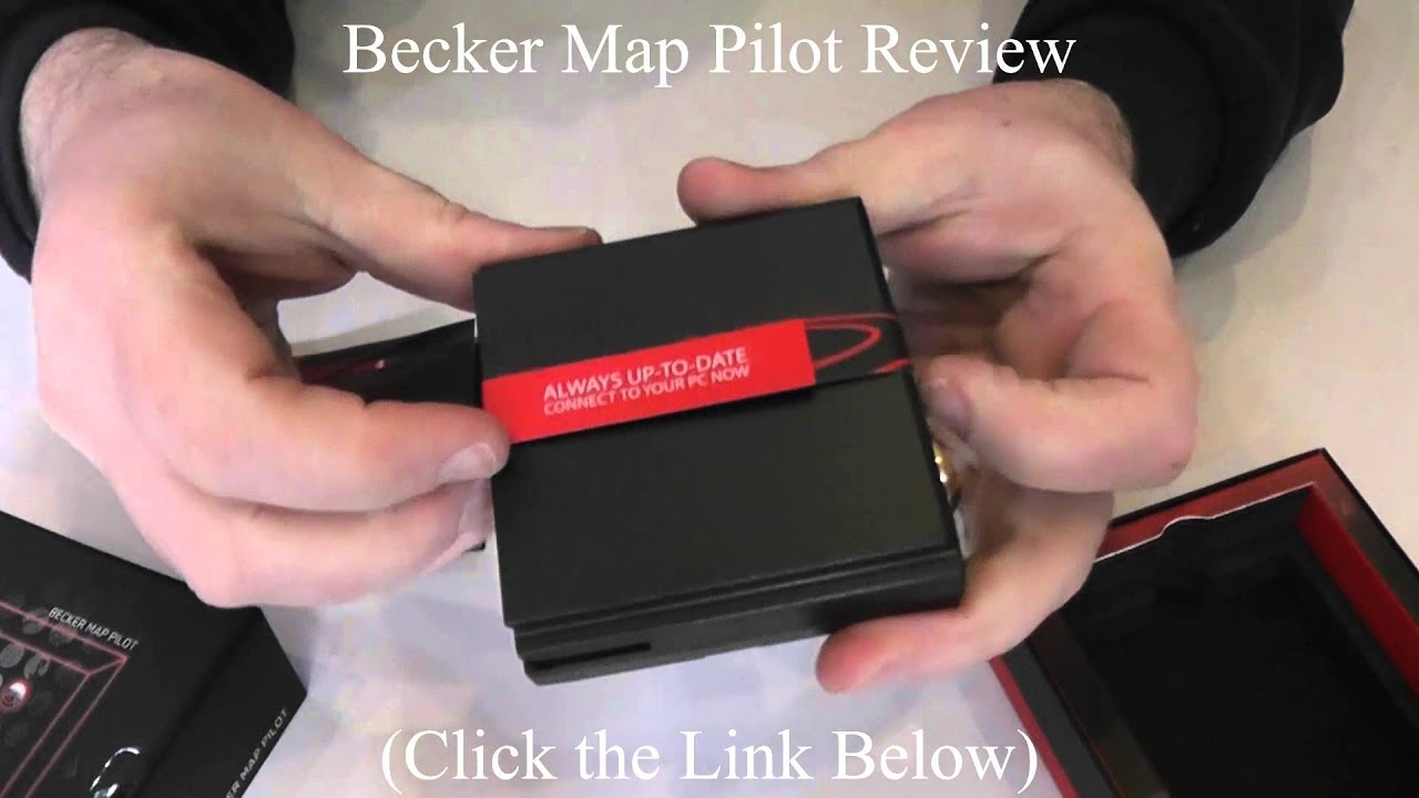 becker map pilot becker sat nav review youtube