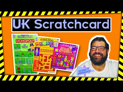 Scratchcards - Winning On The UK National Lottery