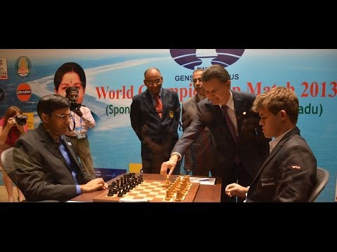 ajedrez campeonato del mundo de ajedrez 2013 carlsen vs anand