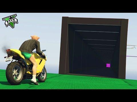 GTA 5 ONLINE 🐷 TUNNEL NERO !!! 🐷 GARE PARKOUR 🐷N*423🐷 GTA 5 ITA 🐷 DAJE !!! thumbnail