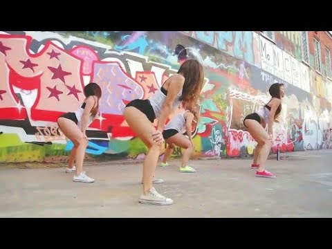 4 best sexy street hip hop dances choreography || Video in English.