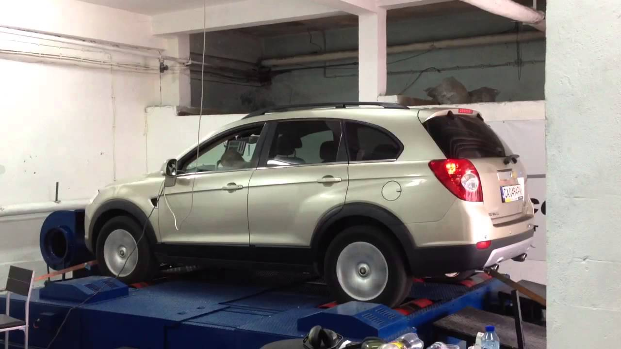 Chip Tuning Chevrolet Captiva VRPerformance Ruse