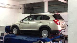 Chip Tuning Chevrolet Captiva VRPerformance Ruse(http://www.VRPerformance.net Chevrolet Captiva 2.0vcdi 150hp,measured on dyno: 139hp original - 170hp with Chip Tuning., 2013-05-09T21:31:09.000Z)