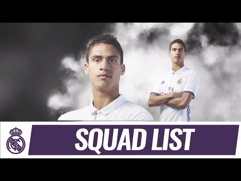 Our squad for the match 🆚 Málaga