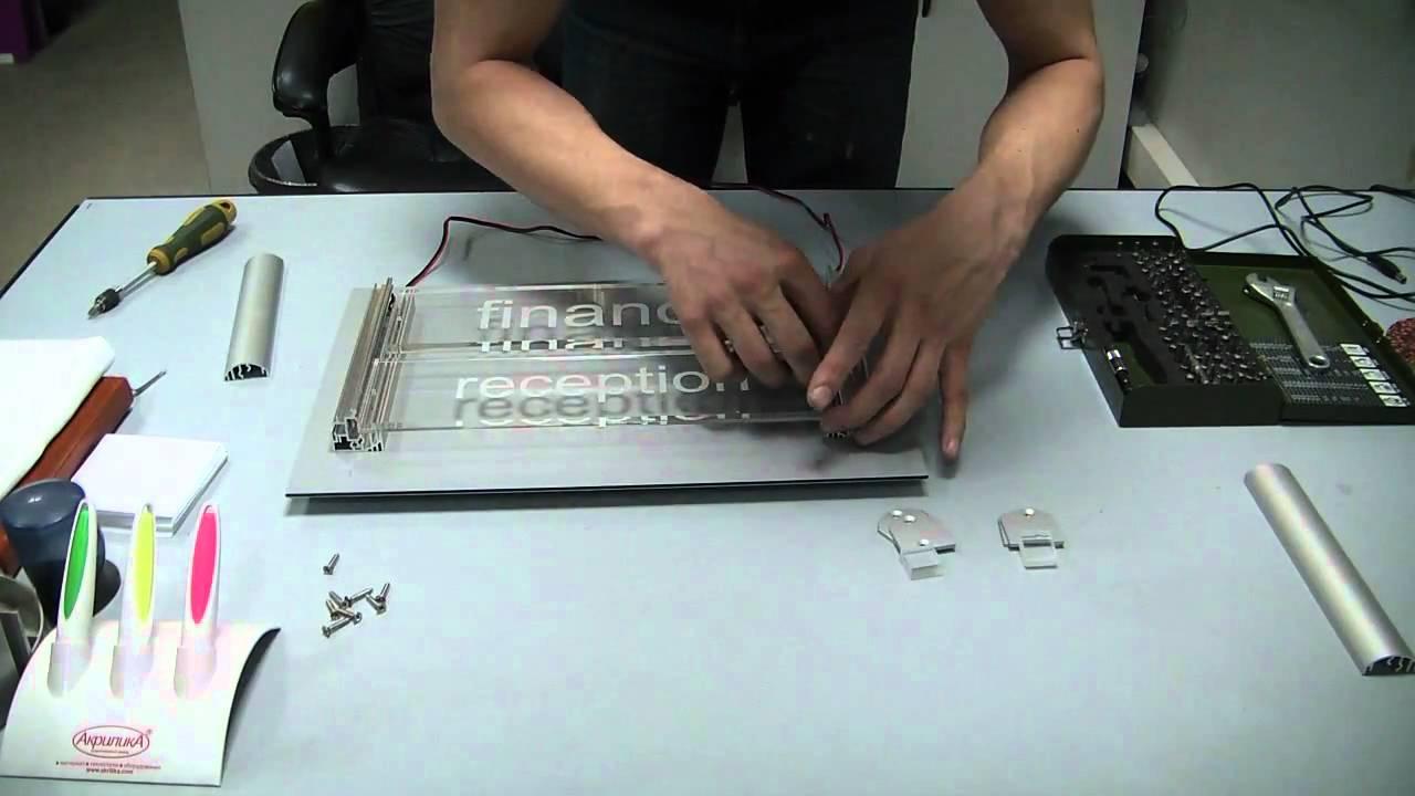 Зеркало с эффектом бесконечности. Световой тоннель How to make an .