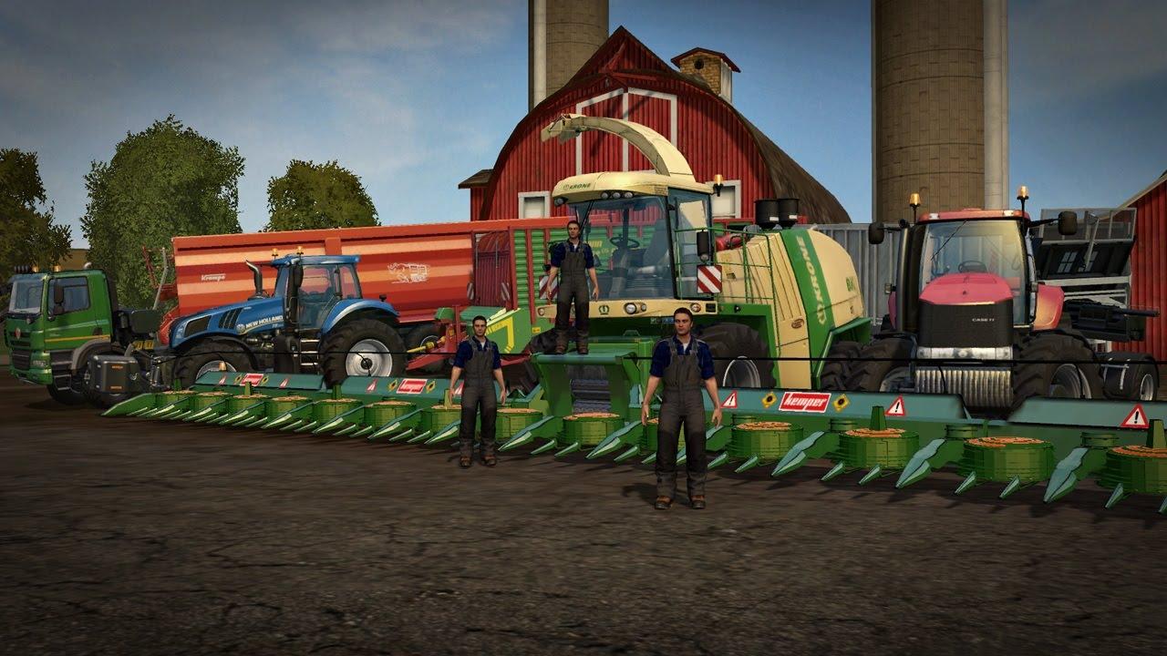 Bardzo dobry Kiszonka z kukurydzy na największą skale ! 4 KAMERKI ! KEMPER 20M KS11
