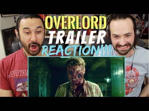 OVERLORD (2018)- Official TRAILER REACTION & REVIEW!!!