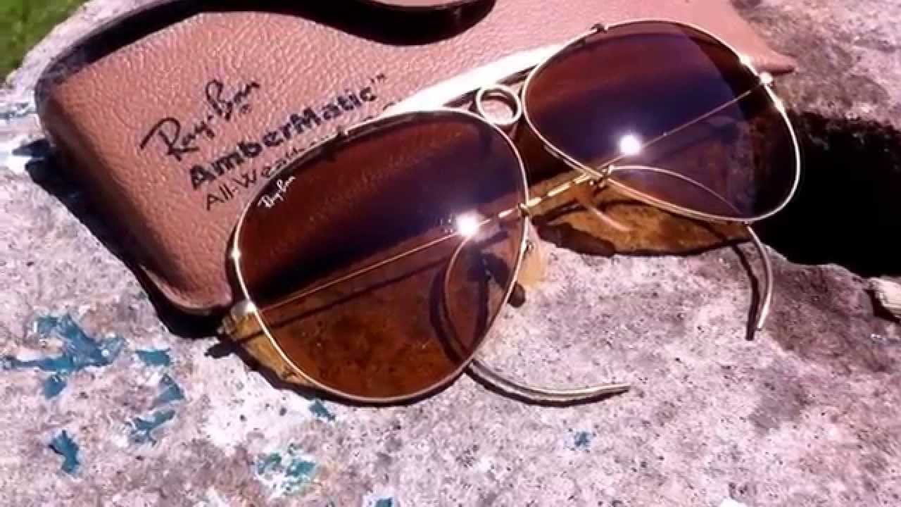 c96665f14c Ray Ban Ambermatic by Bausch and Lomb - YouTube