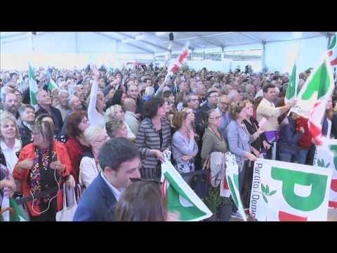 Matteo Renzi chiude la Festa nazionale di Imola - 24/9/17
