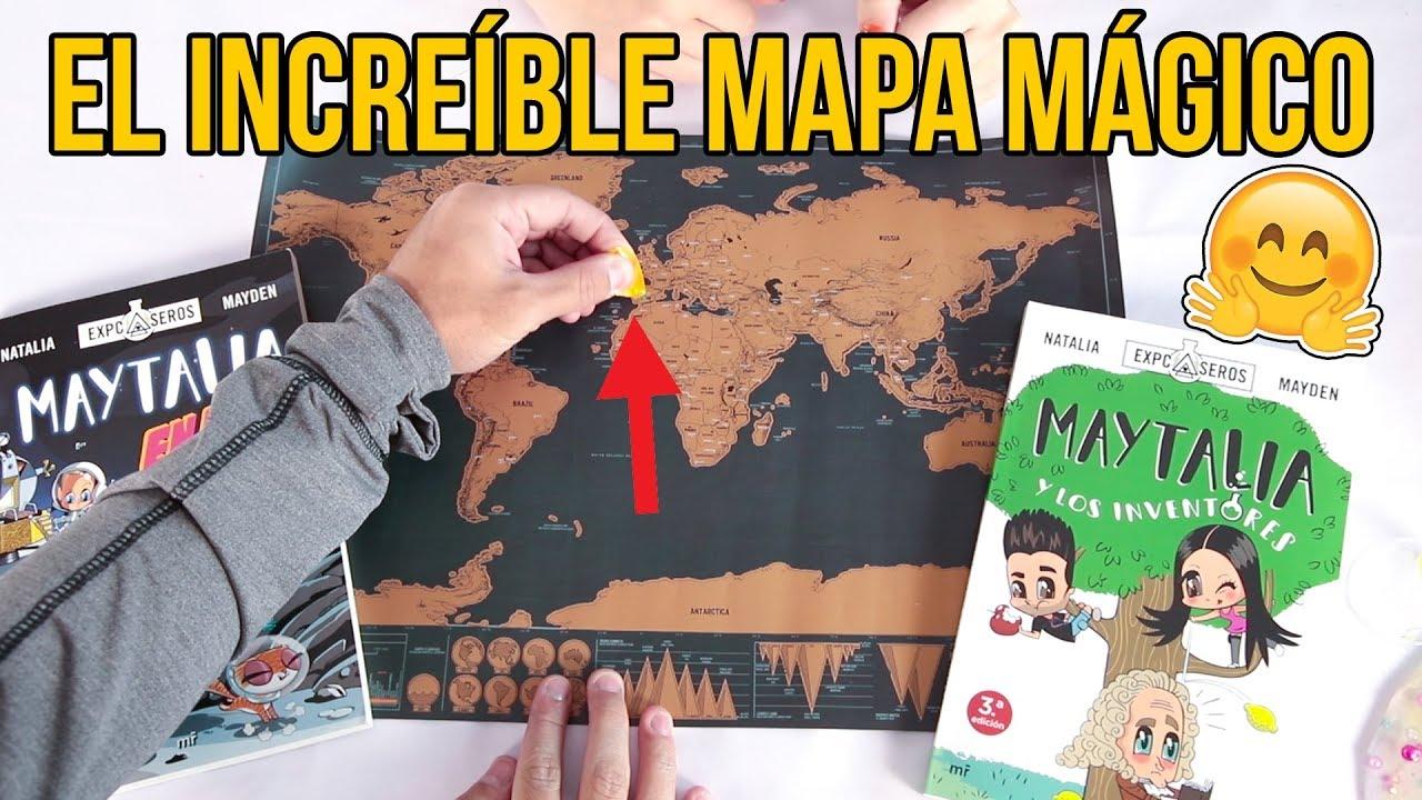 Para El Juguetes Niños Increíble Mapa Mágico PXZkiu