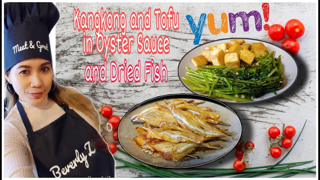 Kangkong And Tofu In Oyster Sauce Jeprox Panlasang Pinoy Easy Recipe Pinay In Germany Youtube