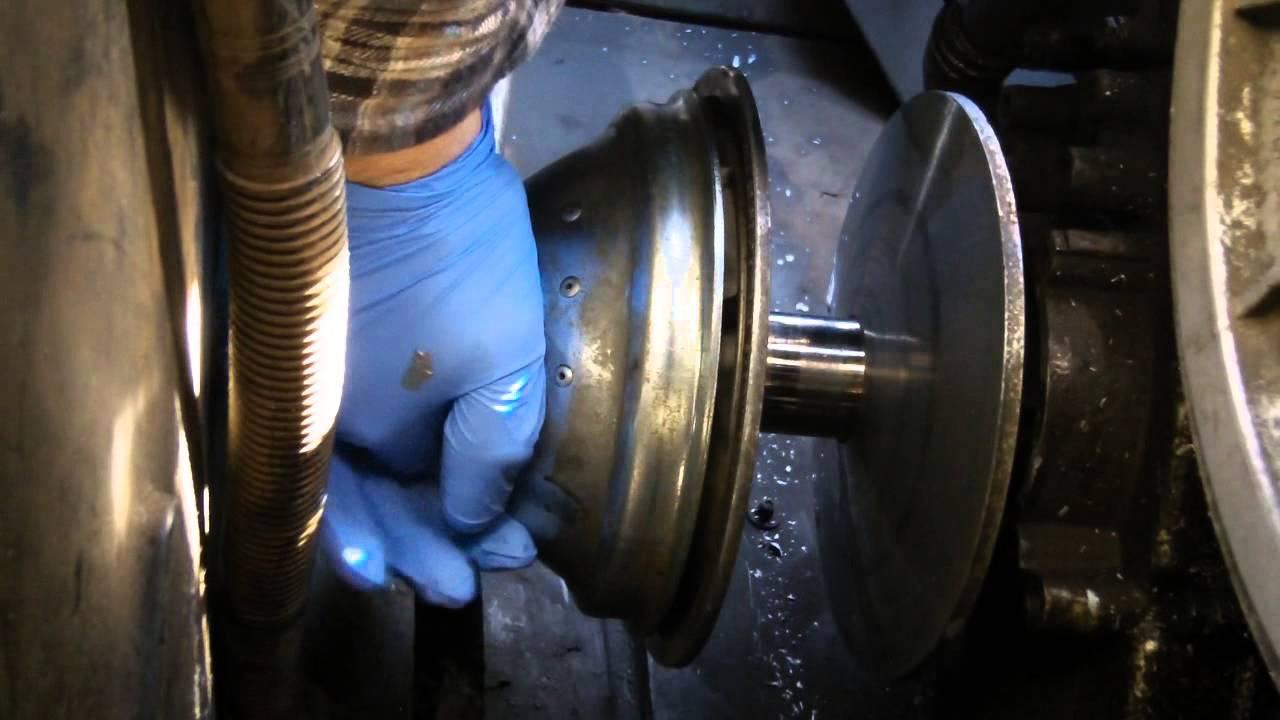 Driver clutch installation
