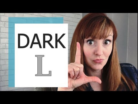 How To Pronounce The L Sound In American English Part 2 | The Dark L Sound