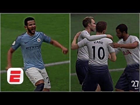 FIFA 19 Predictions: Manchester City vs  Tottenham Hotspur