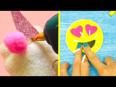 5 DIY EASY UNICORN AND EMOJI CRAFTS YOU'D LIKE TO TRY