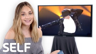 Maddie Ziegler Reviews the Internet's Biggest Viral Dance Videos | SELF