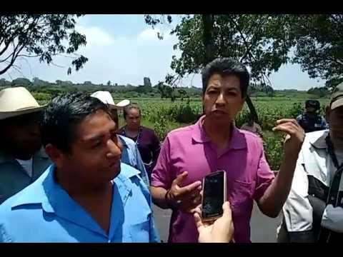 Pobladores de Huecahuaxco se manifiestan en Ocuituco