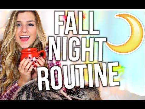 Night Routine For Fall! - YouTube