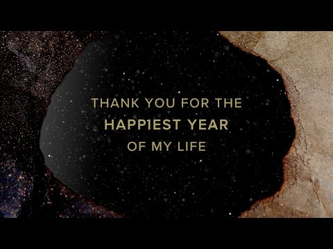 Jaymes Young - Happiest Year [Official Lyric Video]
