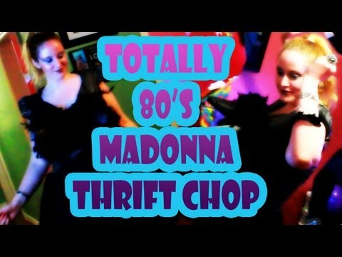 Totally 80's Madonna Costume - Thrift Chop