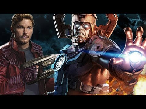 GALACTUS In The MCU! The LAST EASTER EGG IN GUARDIANS OF THE GALAXY!!??