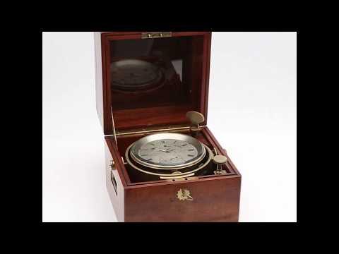 01630 English Marine chronometer, John Bruce & Sons