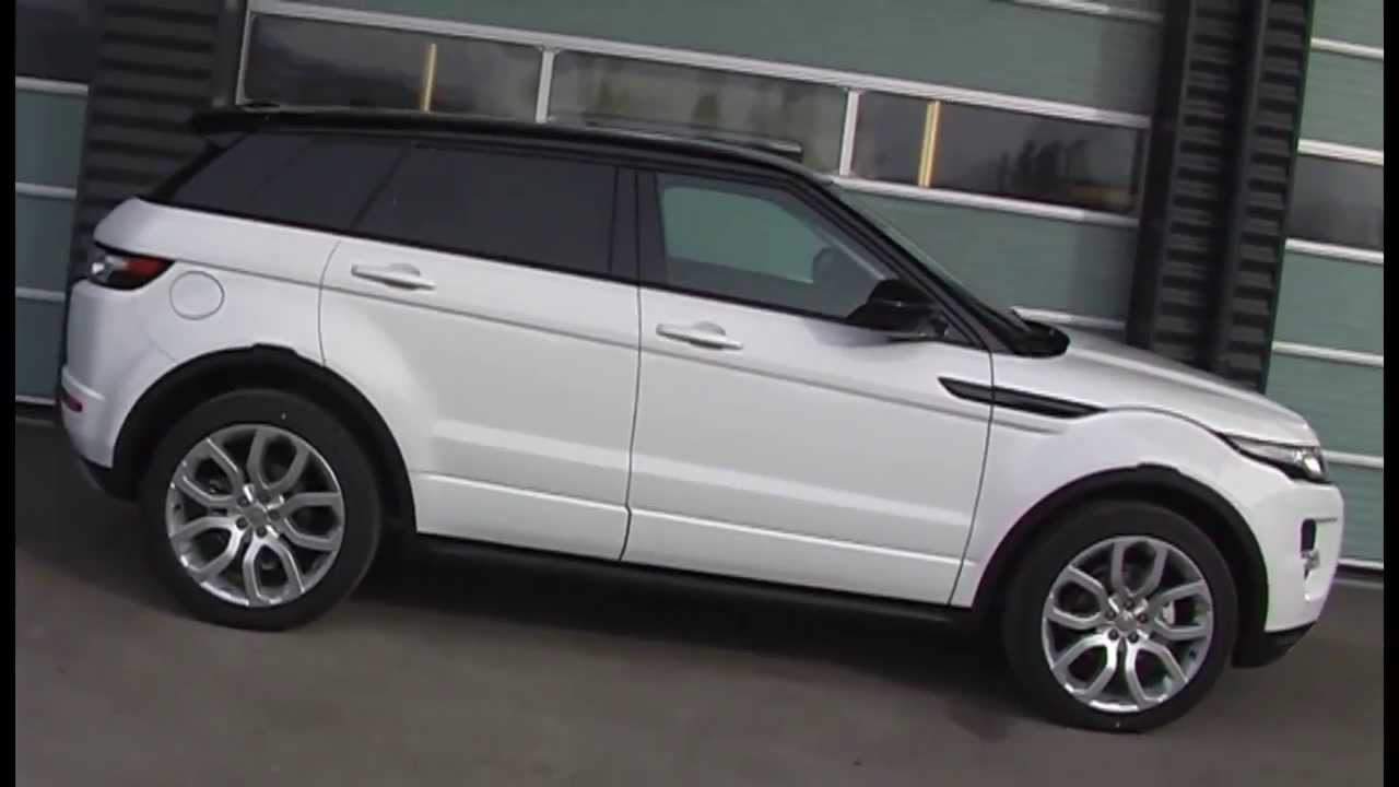 presenterar nya 2014 range rover evoque 9 v xlad automat 2 2 sd4 dynamic 20. Black Bedroom Furniture Sets. Home Design Ideas