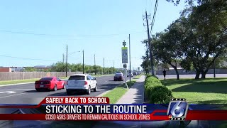 CCISD police working with city officials in school zones