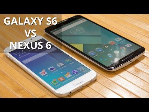 Samsung Galaxy S6 vs Google Nexus 6