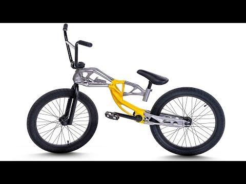 Видео: BMX из 3D ПРИНТЕРА! ЧТО?! (обзор велосипеда)