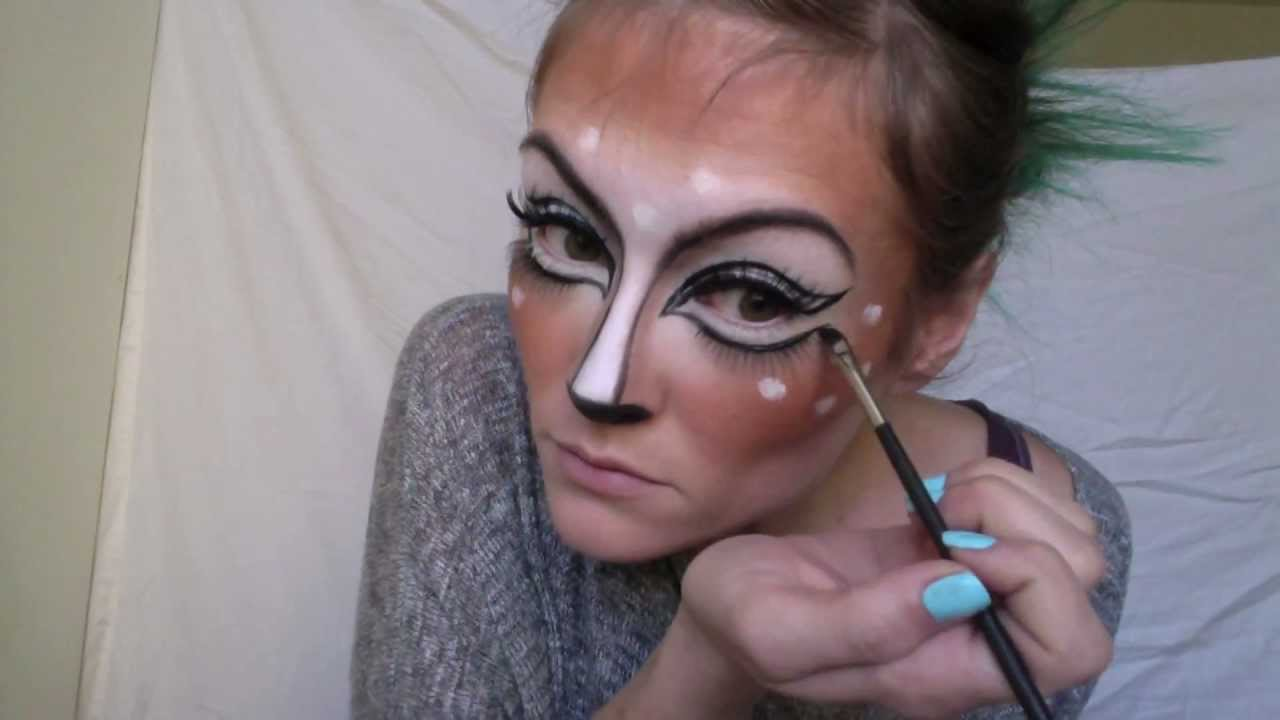 Deer makeup youtube solutioingenieria Gallery