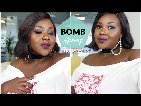B.O.M.B Makeup Tutorial Challenge!!!! | Chanel Ambrose