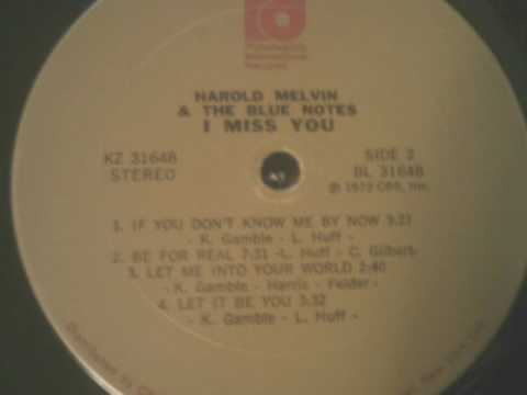 Be For Real - Harold Melvin & The Blue Notes Featuring Teddy Pendergrass