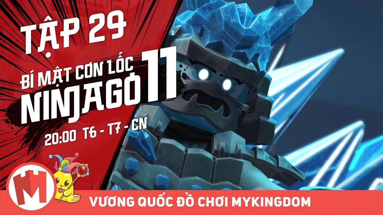 BÍ MẬT CƠN LỐC NINJAGO – Phần 11 | Tập 29: Một Lần Cho Tất Cả – Phim Ninjago Tiếng Việt