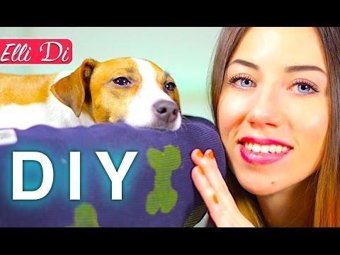 Самый простой способ самостоятельного изготовления лежанки для собаки