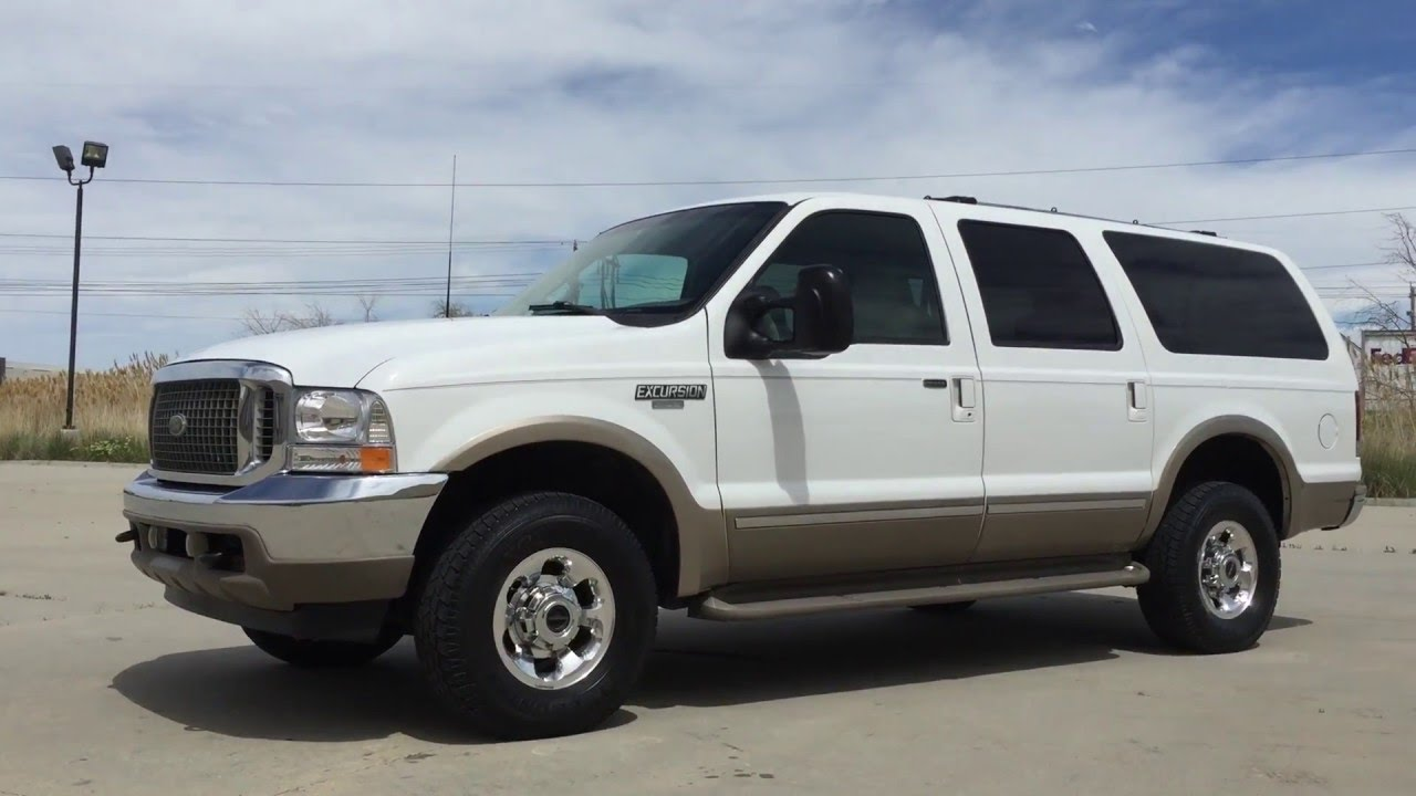 Com 2002 ford excursion limited 4x4 7 3 powerstroke turbo diesel for sale youtube
