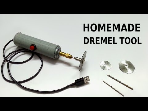 How To Make Powerful Dremel Tool At Home Ev Yapımı Güçlü Dremel
