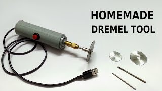 How to make powerful Dremel tool at home thumbnail