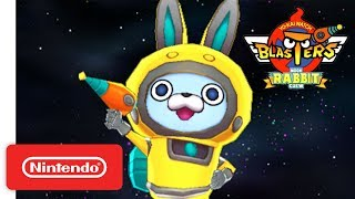 YO-KAI WATCH BLASTERS - Moon Rabbit Crew Trailer - Nintendo 3DS