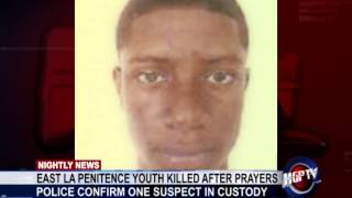 EAST LA PENITENCE YOUTH KILLED AFTER PRAYERS