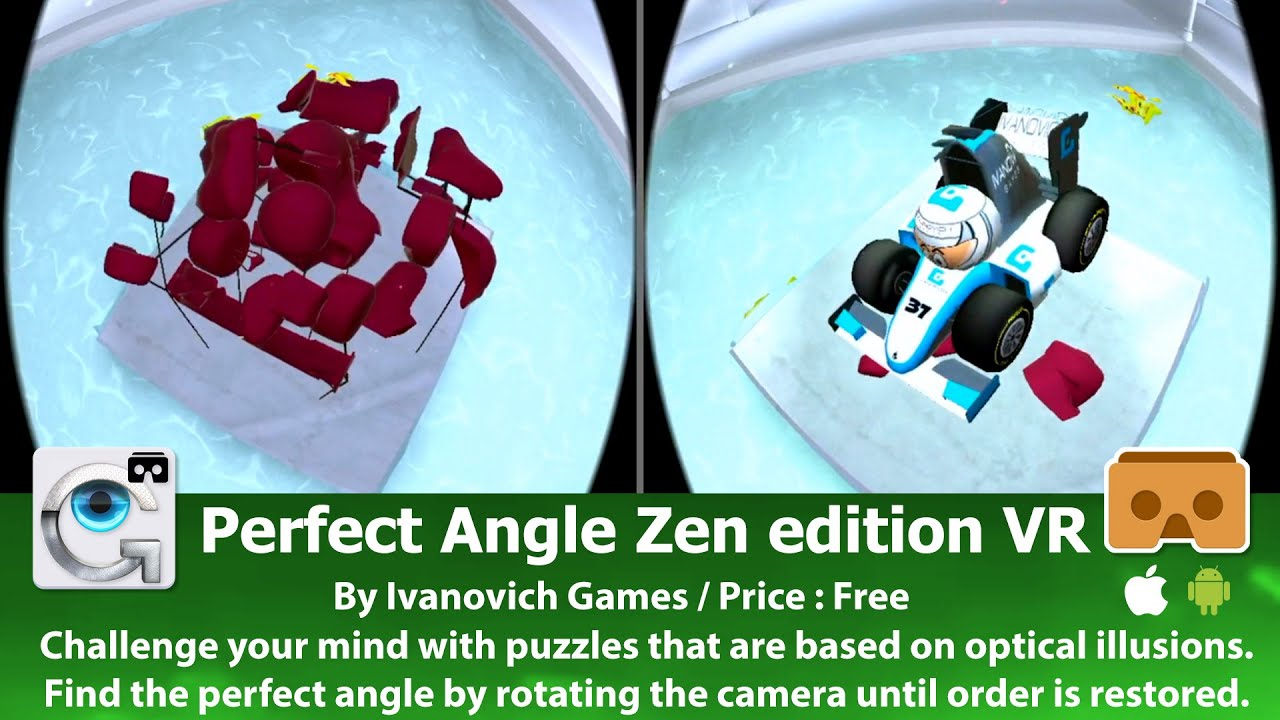 Perfect Angle The Best VR D Puzzle Game Based On Optical - Perfect angle