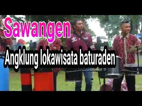 sawangen PENGAMEN ANGKLUNG LOKAWISATA BATURADEN