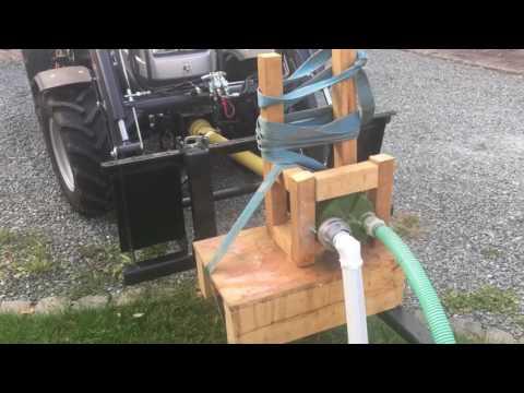 Ganz und zu Extrem Zapfwellen Pumpe - YouTube &BH_38