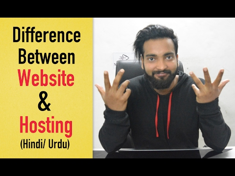 What is the Difference Between Website and Hosting?