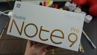 Xiaomi REDMI NOTE 9 PRO 5G   Unboxing & Hands-On [Deutsch]