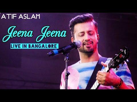Jeena Jeena Atif Aslam Live | Bangalore 2015