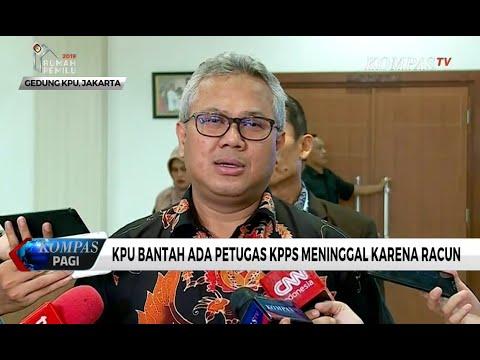 KPU Bantah Ada Petugas KPPS Meninggal Karena Racun