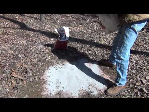 How To Make Mineral Stations for Whitetail Deer With Results - Growing Big Bucks Recipe